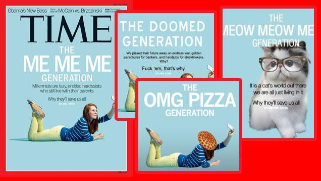 parodie sur les réseaux sociaux de la génération Y moi moi moi !