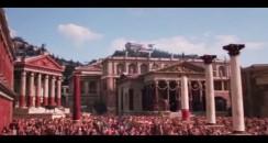"""Extrait Youtube de la série TV historique américaine  """"Rome"""""""