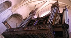 concert d'orgue a la Dalbade, Flickr photos/ceridwenn/