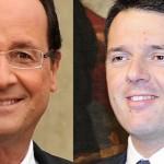 Emploi : François Hollande soutient Matteo Renzi